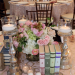 Castle Hill Inn Wedding Centerpiece